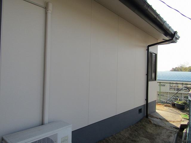 塗り替えした外壁