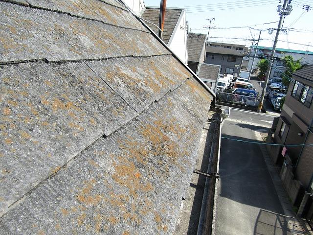 屋根カラーベスト劣化状況