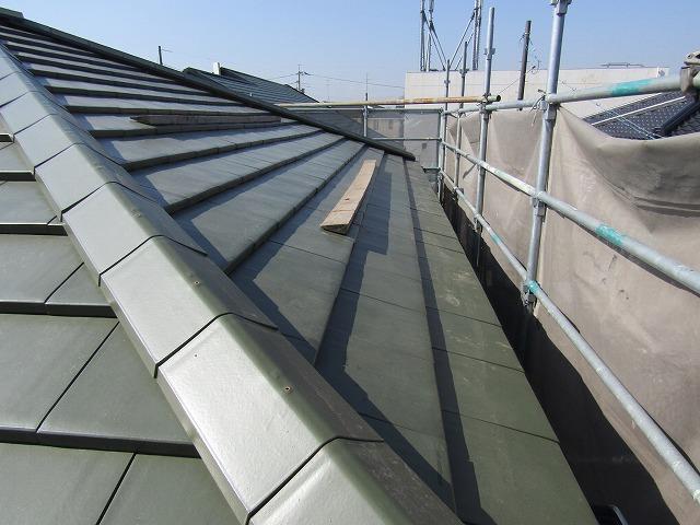 屋根の葺き替え 完成