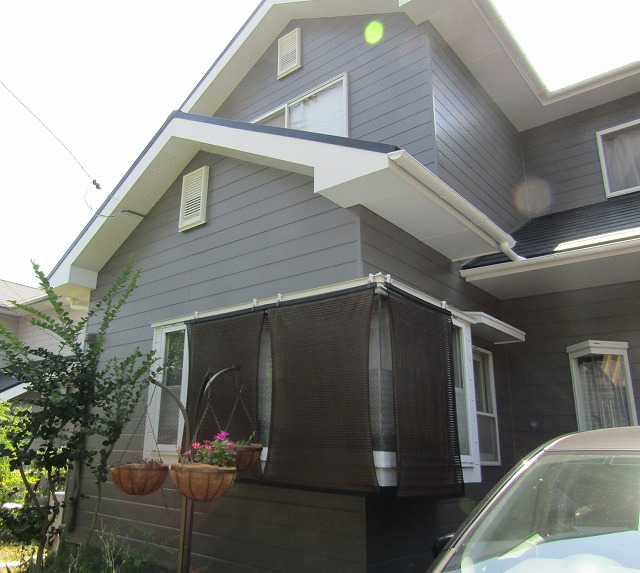 岡岡山市M様 家の塗り替え完成