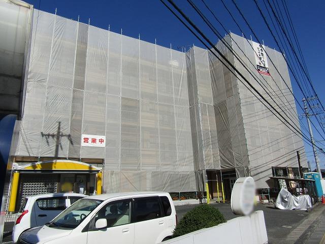 倉敷市松島の現場