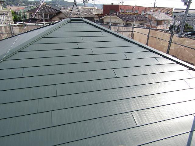 屋根横段ルーフ