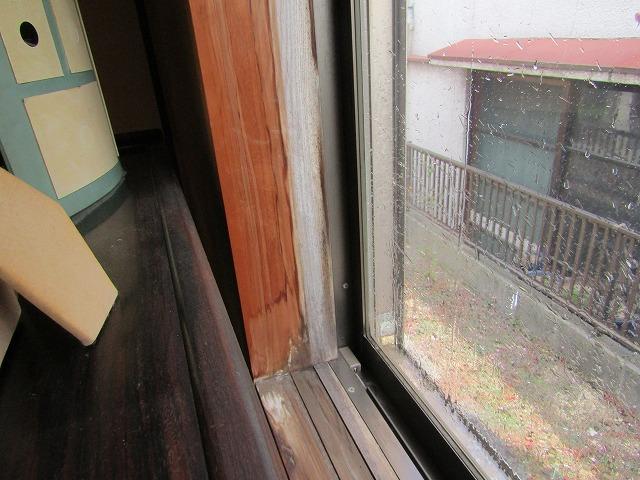 岡山市南区妹尾でサイディング目地から草が? 雨漏り点検