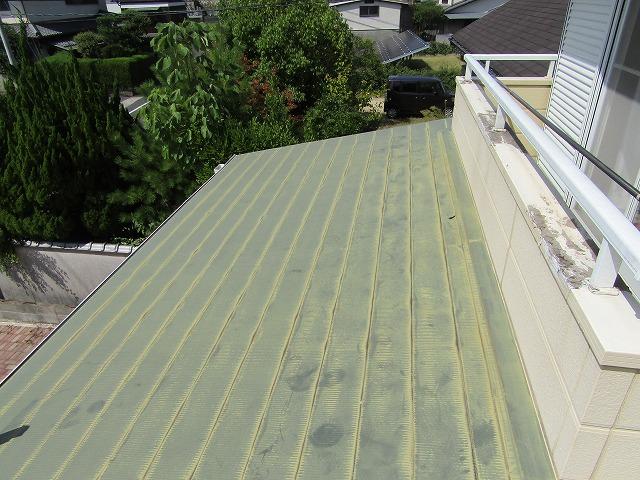 カラー鋼板屋根