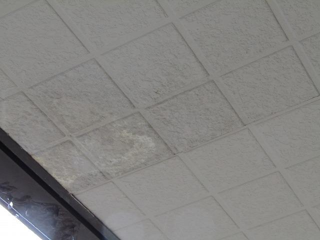 天井雨染み